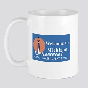 Welcome to Michigan - USA Mug