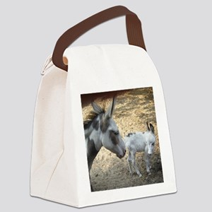 Carly and Roxy 8-12-10 Canvas Lunch Bag