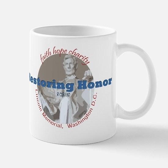 Restoring Honor 8-28 Retro Mug