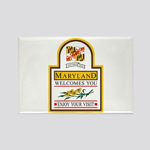 Welcome to Maryland - USA Rectangle Magnet