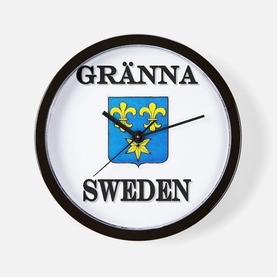 The Gränna Store Wall Clock