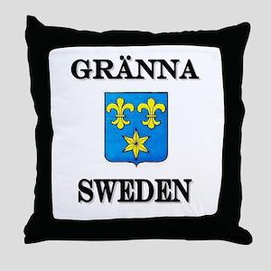 The Gränna Store Throw Pillow