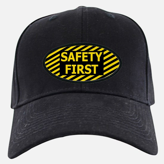 Safety First<BR> Baseball Hat