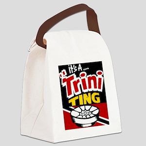 TRINI THING Canvas Lunch Bag