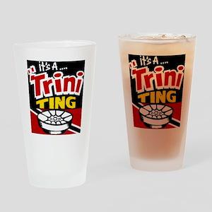 TRINI THING Drinking Glass