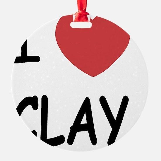 CLAY Ornament