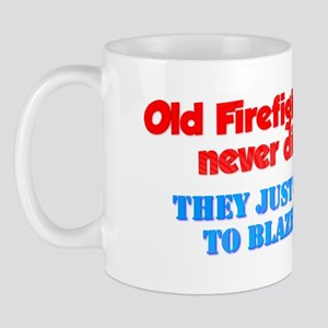 Firefightersoldfirefightersneverdie Mugs