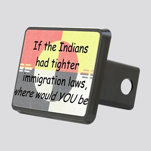Immigration Laws Rectangular Hitch Cover