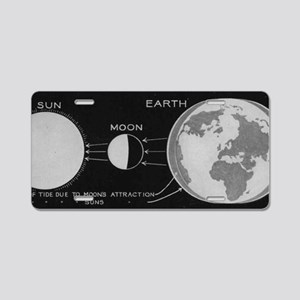 tides Aluminum License Plate