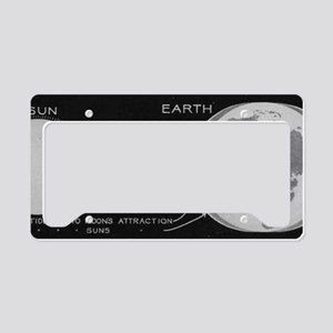 tides License Plate Holder
