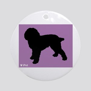 Cockapoo iPet Ornament (Round)