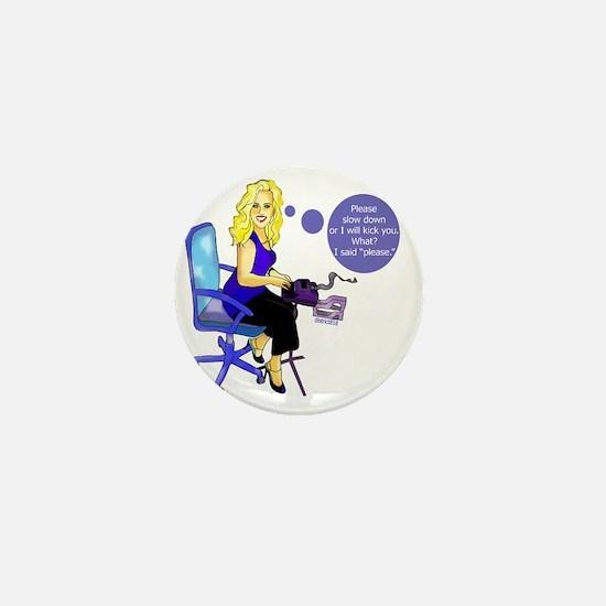julie Mini Button
