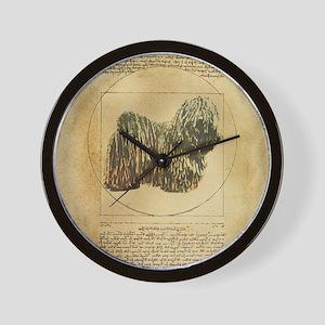 Puli DaVinci Wall Clock