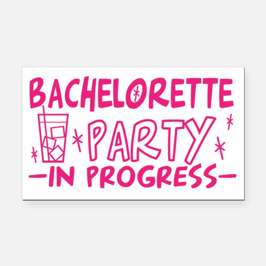 bachelorette-party-in-progres Rectangle Car Magnet
