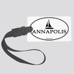 Annapolis, Maryland stickers for Large Luggage Tag