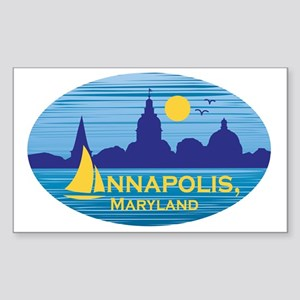 Annapolis, Maryland stickers f Sticker (Rectangle)