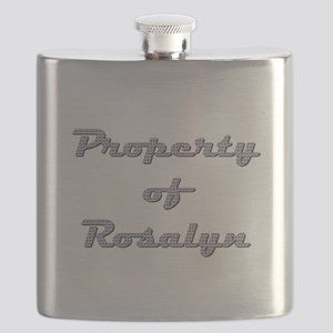 Property Of Rosalyn Female Flask