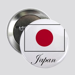 Japan - Japanese Flag Button