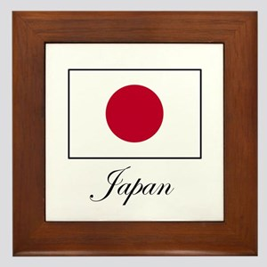 Japan - Japanese Flag Framed Tile