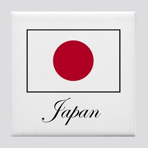 Japan - Japanese Flag Tile Coaster