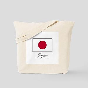 Japan - Japanese Flag Tote Bag