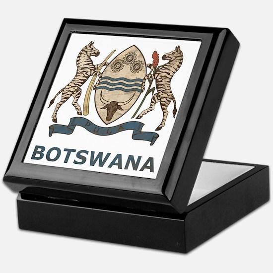 Vintage2Botswana2 Keepsake Box