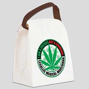Patient-not-Criminal-2009 Canvas Lunch Bag