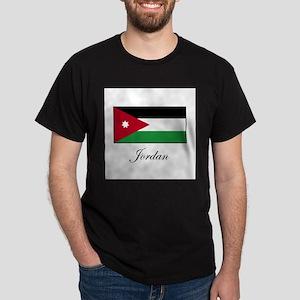 Jordan - Jordanian Flag Dark T-Shirt