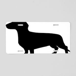 sausage_dog Aluminum License Plate