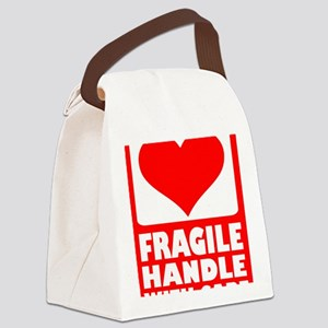 fragile_with_care Canvas Lunch Bag
