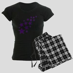 stars_2010_lila Women's Dark Pajamas