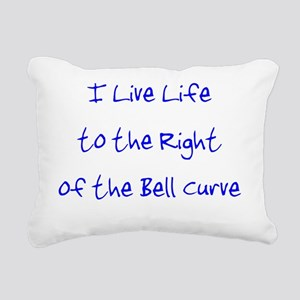 rightofthebellcurveuse Rectangular Canvas Pillow