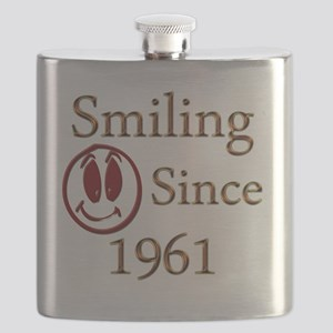 smiling 61 Flask