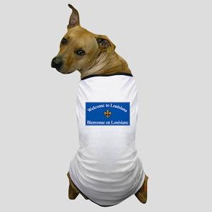 Welcome to Louisiana - USA Dog T-Shirt