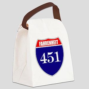 fahrenheit451 Canvas Lunch Bag