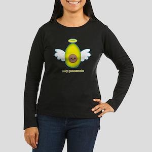 Holyguac Women's Long Sleeve Dark T-Shirt