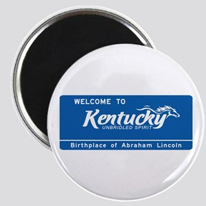 Welcome to Kentucky - USA Magnet