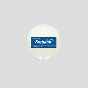 Welcome to Kentucky - USA Mini Button