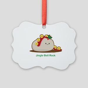 Rock Picture Ornament