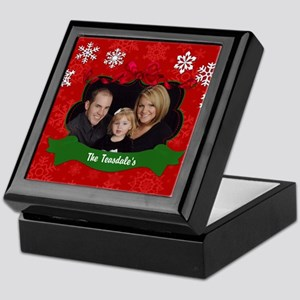 Christmas Photo Keepsake Box
