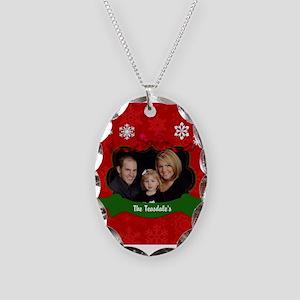 Christmas Photo Necklace