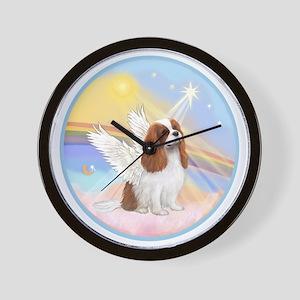 R-Clouds - Blenheim Cavalier (new) Wall Clock