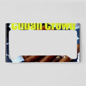 cubancrowd License Plate Holder