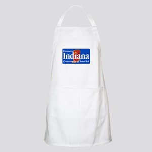 Welcome to Indiana - USA BBQ Apron