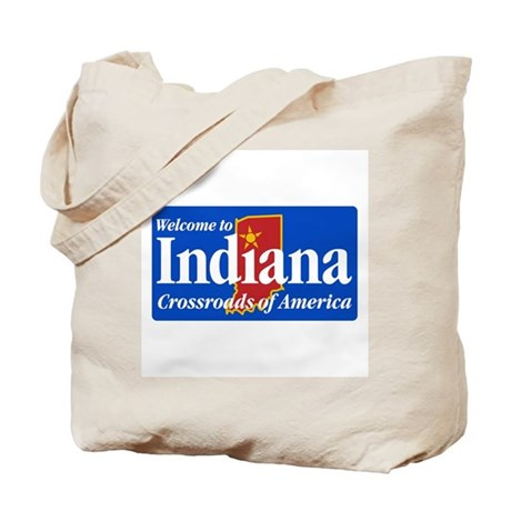Welcome to Indiana - USA Tote Bag