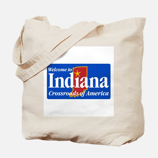 Welcome to Indiana - USA Tote Bag