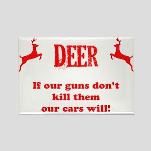 deer design copy Rectangle Magnet