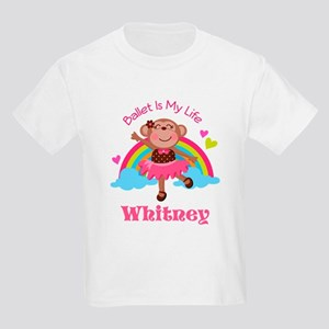 Personalized Ballet Dancer monkey T-Shirt