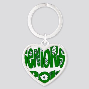 bloomster green 2011 Heart Keychain