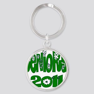 bloomster green 2011 Round Keychain